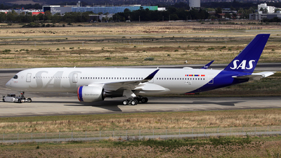 F-WZHJ - Airbus A350-941 - Scandinavian Airlines (SAS)