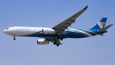 A picture of A4ODH - Airbus A330343 - Oman Air - © Shajie Hussain