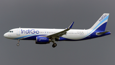 VT-IFS - Airbus A320-232 - IndiGo Airlines