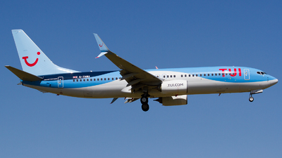 A picture of GTAWA - Boeing 7378K5 - TUI fly - © RobertLN