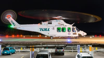 VH-TJI - Agusta-Westland AW-139 - Toll Helicopters NSW