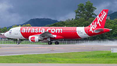 A picture of HSABQ - Airbus A320216 - AirAsia - © Chittapon K.
