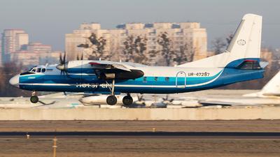 A picture of UR47297 - Antonov An24RV - Motor Sich Airlines - © Oleksandr Smerychansky