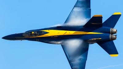 163444 - McDonnell Douglas F/A-18C Hornet - United States - US Navy (USN)