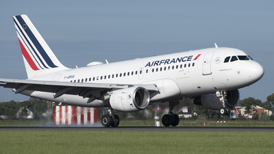 F-GRHS - Airbus A319-111 - Air France