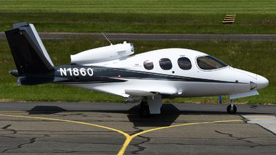 N1860 - Cirrus Vision SF50 G2 - Private