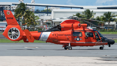 6558 - Aérospatiale MH-65D Dolphin - United States - US Coast Guard (USCG)