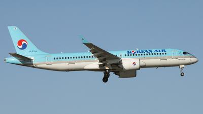 A picture of HL8314 - Airbus A220300 - Korean Air - © REDSOX