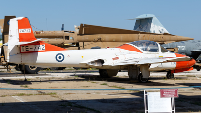 74742 - Cessna T-37B Tweety Bird - Greece - Air Force