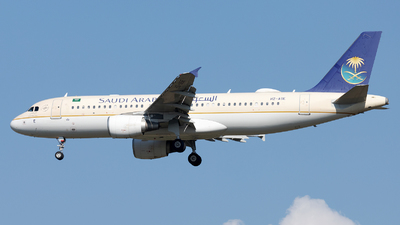 A picture of HZASE - Airbus A320214 - Saudia - © SlowhanD