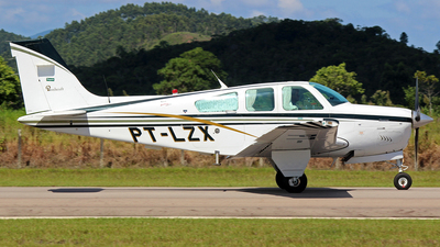 PT-LZX - Beechcraft F33A Bonanza - Private
