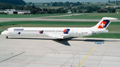 HB-IUN - McDonnell Douglas MD-83 - Crossair