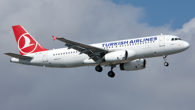 TC-JUG - Airbus A320-232 - Turkish Airlines