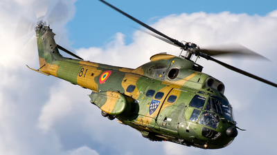 81 - IAR-330M Puma - Romania - Air Force