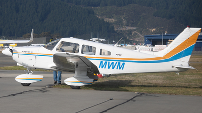 ZK-MWM - Piper PA-28-181 Archer II - Private