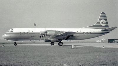 PH-LLB - Lockheed L-188C Electra - KLM Royal Dutch Airlines