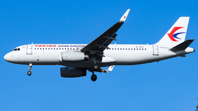 A picture of B1815 - Airbus A320232 - China Eastern Airlines - © TAORUNWAY35