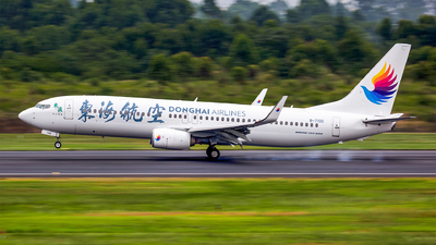 B-7100 - Boeing 737-8Q8 - Donghai Airlines