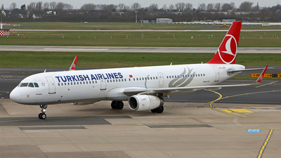A picture of TCJTH - Airbus A321231 - Turkish Airlines - © Peter Kesternich