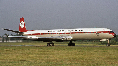 G-AYVS - De Havilland DH-106 Comet 4C - Dan-Air London