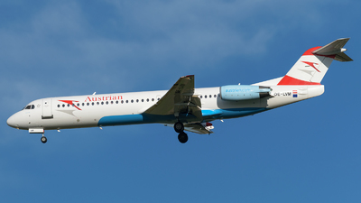 A picture of OELVM - Fokker 100 - [11396] - © SlowhanD