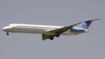 YR-HBD - McDonnell Douglas MD-83 - Bluebird Airways