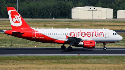 D-ABGQ - Airbus A319-112 - Air Berlin