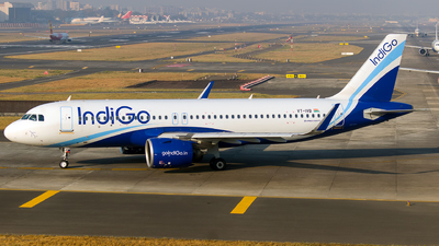 A picture of VTIVB - Airbus A320271N - IndiGo - © Aneesh Bapaye