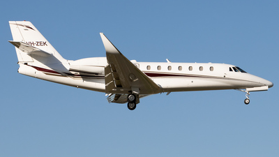 VH-ZEK - Cessna 680 Citation Sovereign - Private