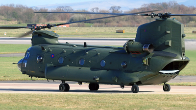 ZD574 - Boeing Chinook HC.6 - United Kingdom - Royal Air Force (RAF)