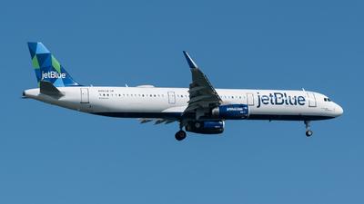 A picture of N993JE - Airbus A321231 - JetBlue Airways - © Aditya Saligrama