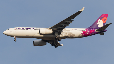 A picture of N361HA - Airbus A330243 - Hawaiian Airlines - © walker2000