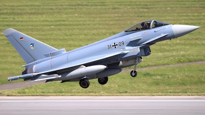 31-09 - Eurofighter Typhoon EF2000 - Germany - Air Force