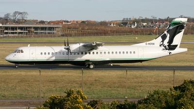 G-HERM - ATR 72-201 - Air Atlantique