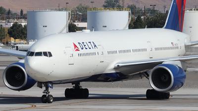 A picture of N867DA - Boeing 777232(ER) - [29743] - © Nate Morin