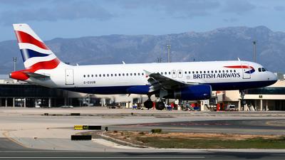 A picture of GEUUB - Airbus A320232 - British Airways - © Javier Rodriguez - Amics de Son Sant Joan