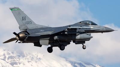 89-2023 - General Dynamics F-16CG Fighting Falcon - United States - US Air Force (USAF)