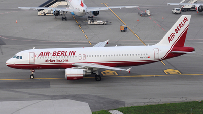 HB-IOS - Airbus A320-214 - Air Berlin (Belair Airlines)
