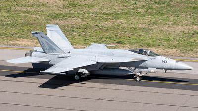 166649 - Boeing F/A-18E Super Hornet - United States - US Navy (USN)