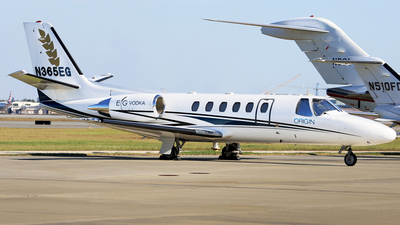 N365EG - Cessna 550B Citation Bravo - Private