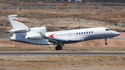 A picture of MOUNT - Dassault Falcon 8X - [464] - © Toño Ayala