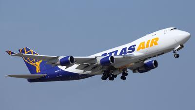 N492MC - Boeing 747-47U(F) - Atlas Air