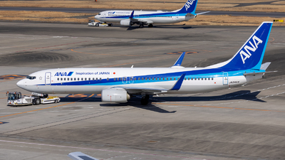 A picture of JA84AN - Boeing 737881 - All Nippon Airways - © Resupe