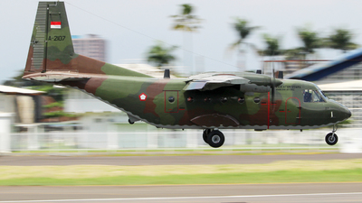 A-2107 - CASA C-212-200 Aviocar - Indonesia - Air Force
