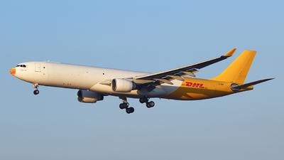 A picture of EIHEB - Airbus A330322(F) - DHL - © david daniel
