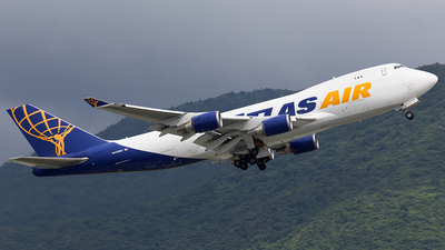 N409MC - Boeing 747-47U(F) - Atlas Air
