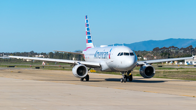 A picture of N773XF - Airbus A319112 - American Airlines - © Ricky Teteris