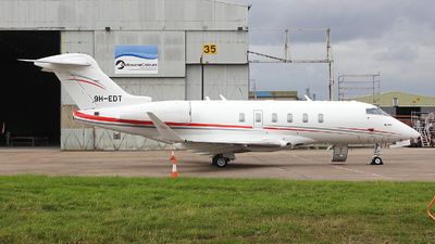 9H-EDT - Bombardier BD-100-1A10 Challenger 350 - Air Charter Scotland