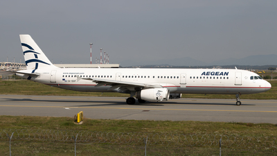 SX-DGP - Airbus A321-231 - Aegean Airlines
