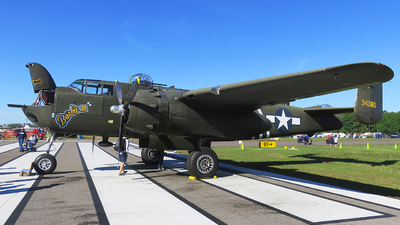 N5548N - North American B-25H Mitchell - Private